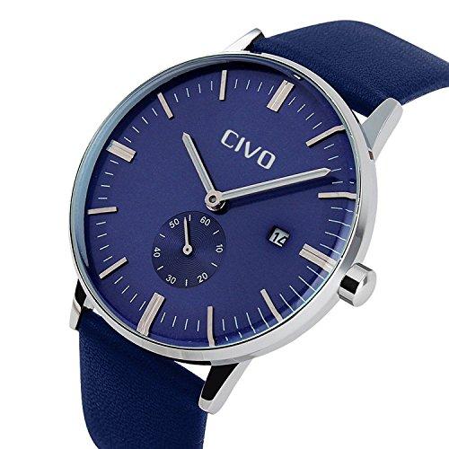 CIVO-Hommes-classique-Quartz-analogique-30M-Test-Avis