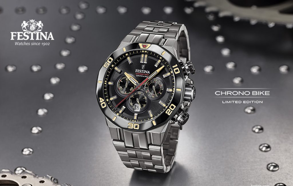 festina chrono bike noir
